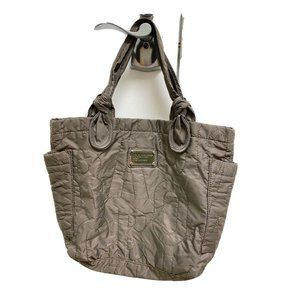 Marc by Marc Jacobs Gray Nylon Tote Shoulder Bag